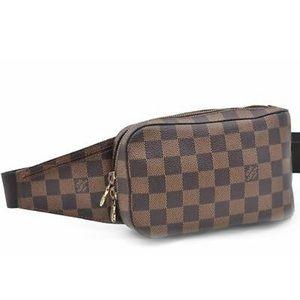 Louis Vuitton Geronimos Damier Ebene Bag